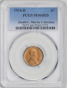 Click now to see the BUY IT NOW Price! 1914 D LINCOLN BRONZE 1C PCGS MS 66 RD