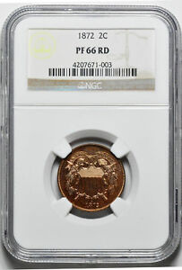 Click now to see the BUY IT NOW Price! 1872 2C NGC PR 66 RD