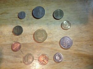 WORLD COINS   LOT: OF 11 COINS