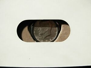 1972 KENNEDY HALF DOLLAR ROUND COIN KNIFE AND FILE CIGAR CUTTER POCKETKNIFE