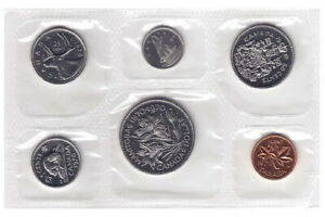 1970 UNCIRCULATED CANADIAN 6 COIN PROOF SET   RCM SEALED PACK