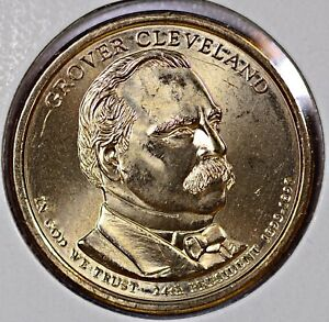 PRESIDENT GROVER CLEVELAND 2ND TERM COIN 2012 D    FINISH YOUR COLLECTION