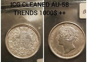Click now to see the BUY IT NOW Price! 1862 20 CENTS  NEW BRUNSWICK CANADA AU 58 DETAILS ICG TWENTY 20C BEAUTIFUL