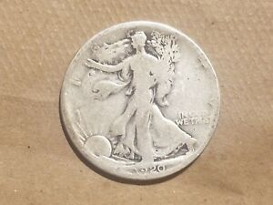 Click now to see the BUY IT NOW Price! 1920 S WALKING LIBERTY HALF DOLLAR SILVER COIN 50 CENTS WALKER 50C 1/2 NICE
