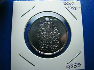 50 CENT 2002 UNCIRCULATED FROM MINT ROLL  A959