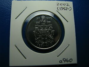 50 CENT 2002 UNCIRCULATED FROM MINT ROLL  A960