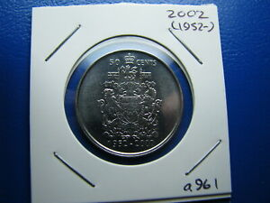 50 CENT 2002 UNCIRCULATED FROM MINT ROLL  A961