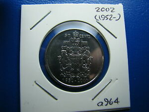50 CENT 2002 UNCIRCULATED FROM MINT ROLL  A964