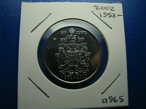 50 CENT 2002 UNCIRCULATED FROM MINT ROLL  A965