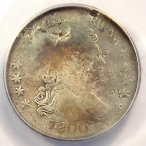 1800 DRAPED BUST DIME 10C   CERTIFIED ANACS VG8 DETAILS    COIN