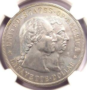 1900 LAFAYETTE SILVER DOLLAR $1   NGC UNCIRCULATED DETAILS    MS UNC COIN