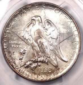 1938 TEXAS HALF DOLLAR 50C COIN   PCGS MS67    IN MS67   $1 850 VALUE