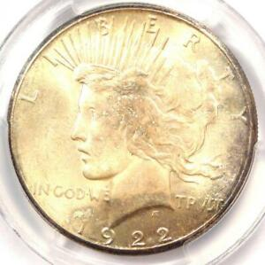 Click now to see the BUY IT NOW Price! 1922 S PEACE SILVER DOLLAR $1   PCGS MS65  PQ