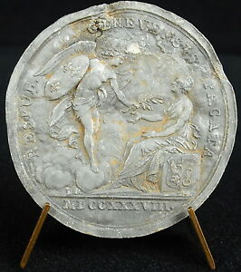 MEDAL PACIFICATION OF GENEVE SWISS SUIZA SCHWEIZ LOUIS XV 1738   MEDAL