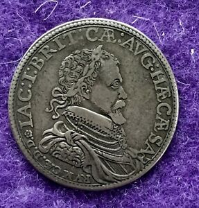 HISTORICAL MEDAL MEDALLION 1603 JAMES I OFFICIAL CORONATION MEDAL