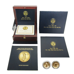 Click now to see the BUY IT NOW Price! 2009 $20 ULTRA HIGH RELIEF GOLD DOUBLE EAGLE 1 OZ WITH BOX BOOK & COA