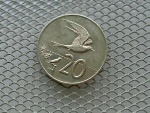 COOK ISLANDS 20 CENTS 1983