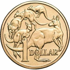 2015 MOB OF ROOS $1 COIN. BRILLIANT UNCIRCULATED COIN FROM RAM MINT SET. 2X2