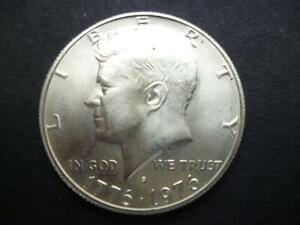 UNITED STATES OF AMERICA KENNEDY HALF DOLLAR COIN 1976 GOOD CIRCULATED CONDITION