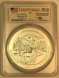 Click now to see the BUY IT NOW Price! 2011 P OLYMPIC NP AMERICA T BEAUTIFUL ATB  5 OZ  PCGS SP70 FIRST STRIKE MERCANTI