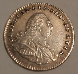 GREAT BRITAIN / 1800 SILVER PENNY MAUNDY GEORGE III