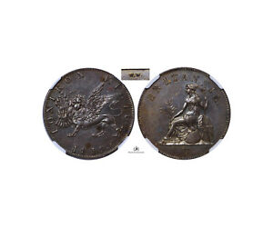 Click now to see the BUY IT NOW Price! GREECE IONIAN ISLANDS 1819. PROOF PATTERN OBOL W.W NGC PF63BN