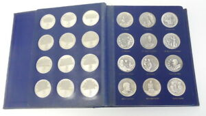 Click now to see the BUY IT NOW Price! 60 LIMITED EDITION WASINGTON MINT HEROES OF GOD STERLING SILVER .925 COIN BOOK