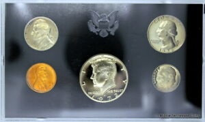 1972 S PROOF SET IN ORIGINAL GOVERNMENT PACKAGING