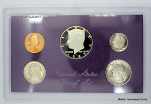 1985 S PROOF SET IN ORIGINAL GOVERNMENT PACKAGING