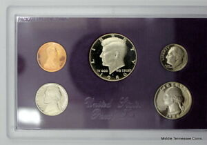 1986 S PROOF SET IN ORIGINAL GOVERNMENT PACKAGING