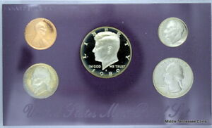 1989 S PROOF SET IN ORIGINAL GOVERNMENT PACKAGING