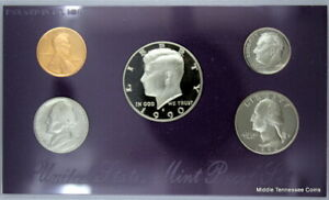 1990 S PROOF SET IN ORIGINAL GOVERNMENT PACKAGING