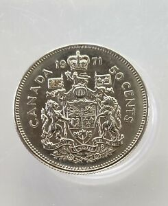 1971 CANADA 50 CENT COIN