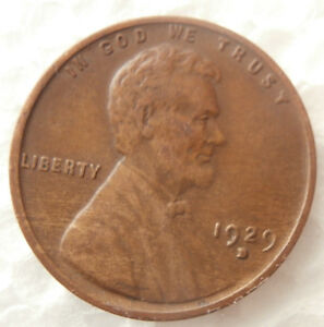 1929 D   WHEAT PENNY ERROR