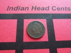 NICE 1889 INDIAN HEAD CENT   CIRCULATED   IHCS9