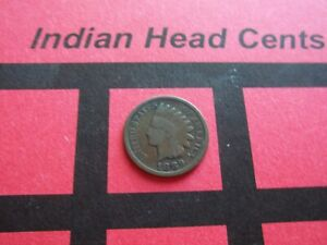 NICE 1889 INDIAN HEAD CENT   CIRCULATED   IHCS7