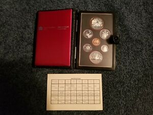 CANADA DOUBLE DOLLAR PROOF SET   1981   ORIGINAL PACKAGING AND COA