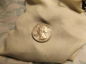 1960 QUARTER. WORN BUT STILL AN OKAY COIN. MY OPINION. TAKE A LOOK.