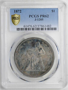 Click now to see the BUY IT NOW Price! 1872 S$1 J 1205 PCGS PR 62