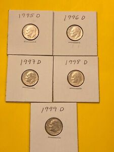 DIME 1995D TO 1999D