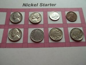 VINTAGE LOT OF 8 OLD AND  COINS THAT ARE 50 125 YEARS OLD  8 COINS  IVBW60