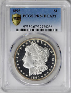 Click now to see the BUY IT NOW Price! 1895 MORGAN S$1 PCGS PR 67 DCAM