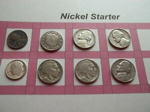 VINTAGE LOT OF 8 OLD AND  COINS THAT ARE 50 125 YEARS OLD  8 COINS  IVBW59