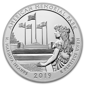 2019 NORTHERN MARIANA ISLANDS: AMERICA THE BEAUTIFUL 5OZ SILVER COIN   ATB