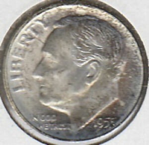 1955 S ROOSEVELT DIME UNCIRCULATED