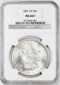 Click now to see the BUY IT NOW Price! 1891 CC MORGAN S$1 NGC MS 66