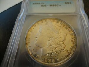 Click now to see the BUY IT NOW Price! 1898 O MS67  ICG MORGAN SILVER DOLLAR  LISTS $12 000