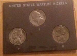 SILVER WAR NICKLE SET   ALL MINT SET