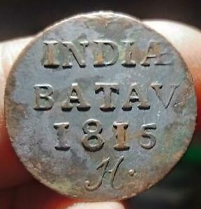 NETHERLANDS INDIE BATAV 1815H 1816 XF 3PCS  CONDITION