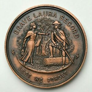 ONTARIO CANADA   BEAVER DAM 1813 COIN   BRAVE LAURA SECORD   LEST WE FORGET